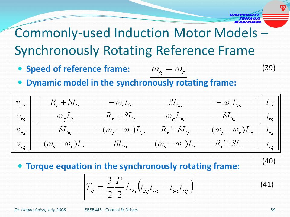 Induction Motor Torque Equation 28 Images Energy
