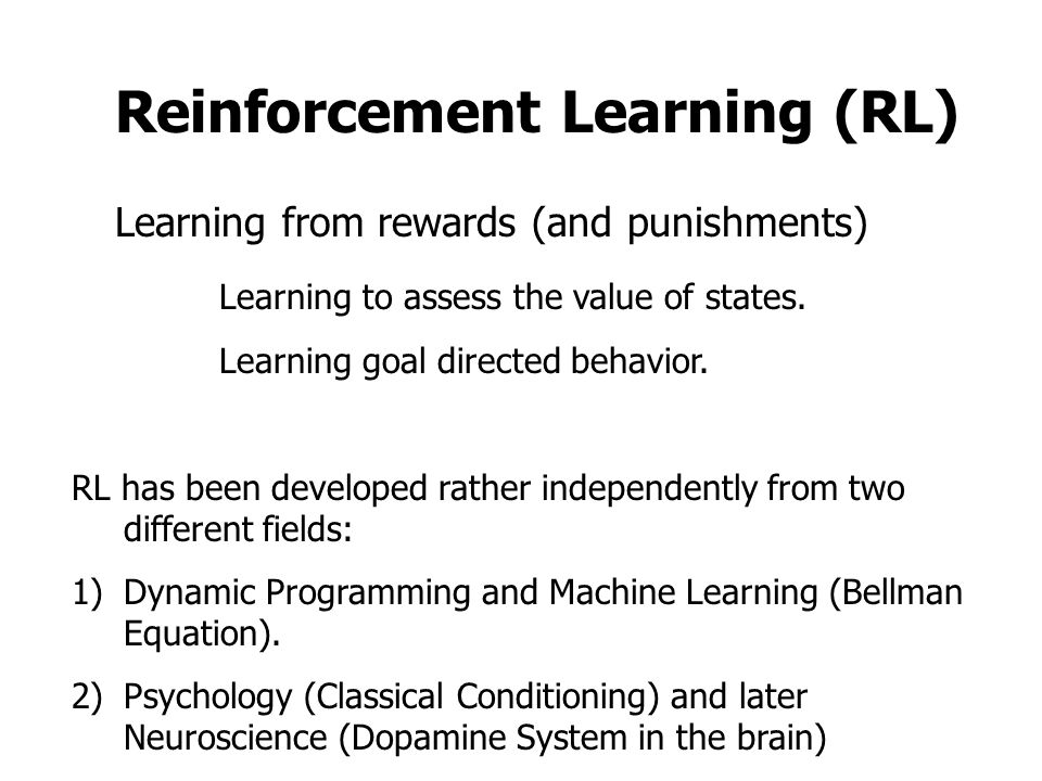 an overview of operant and classical conditioning two different learning methods 2004-2-19 overview of learning theories  theories in different ways for this summary, learning theories are grouped into three  program now known as classical conditioning.
