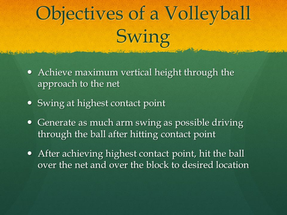 biomechanics of volleyball The biomechanics of volleyball: the arm swing (part 21 of many) disclaimer: within this series, i will probably get on a lot of people's nerves.