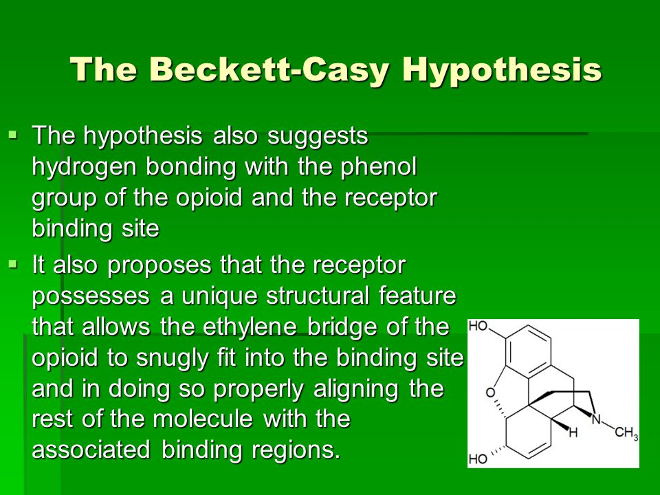 The Beckett-Casy Hypothesis