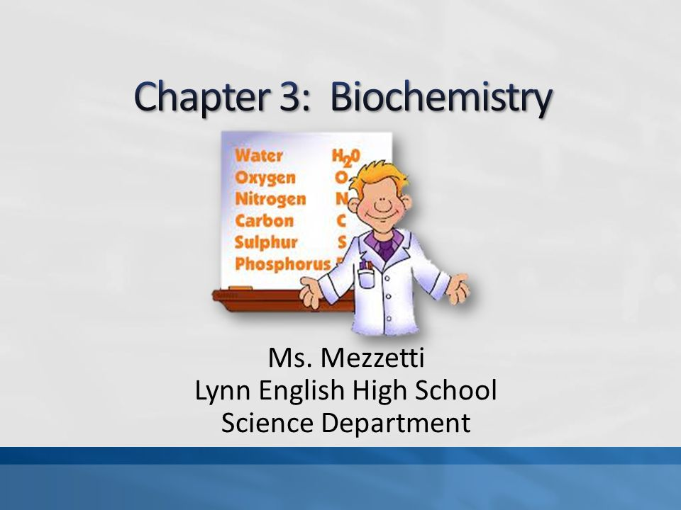 chapter biochemistry ppt video online  chapter 3 biochemistry