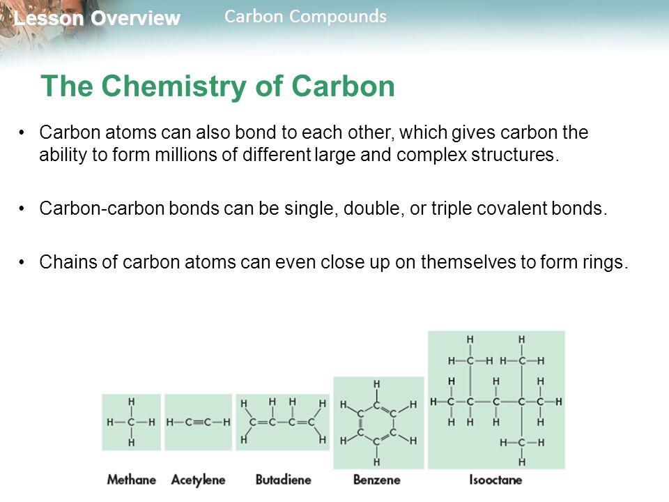 THINK ABOUT IT 2.3 Carbon Compounds - ppt download