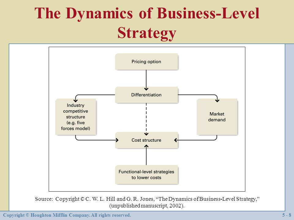 The Dynamics of Business-Level Strategy