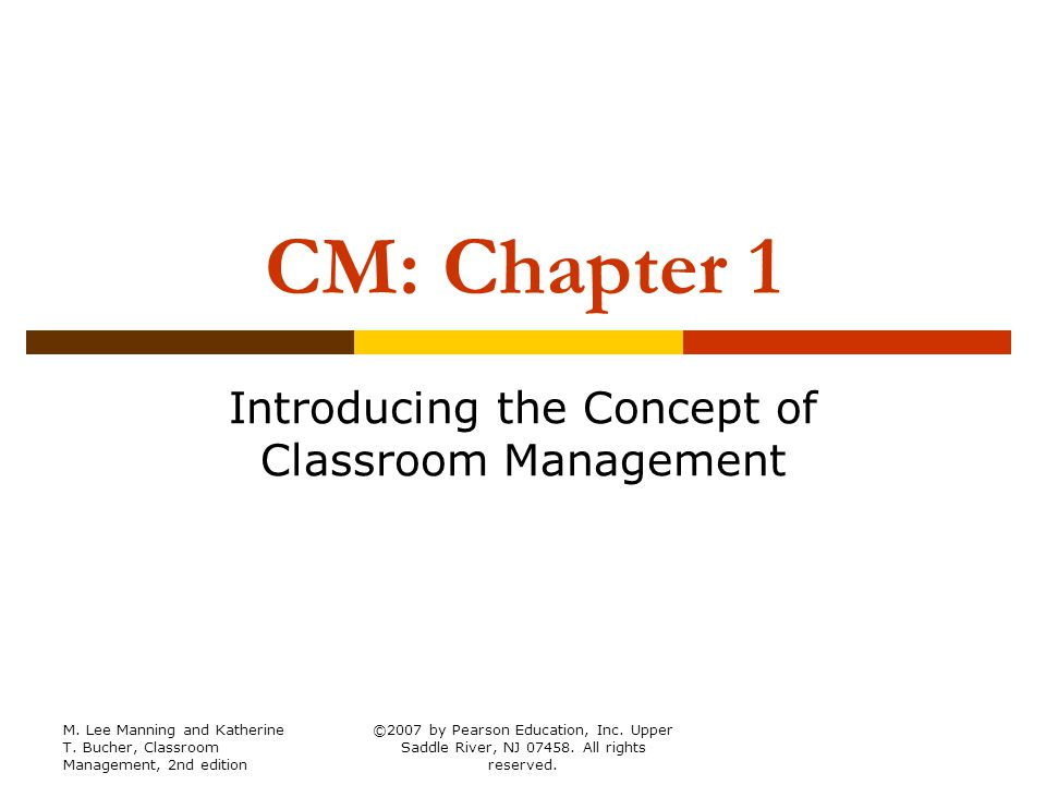 Modern Concept Of Classroom Management : Introducing the concept of classroom management ppt download