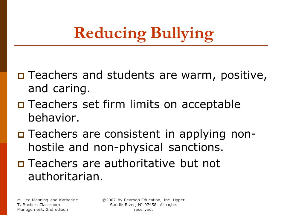 are teachers reducing or increasing behavior Tive measures are very effective in reducing misbehavior in your  disruptive behavior, and maladaptive behavior because teacher  charles_ch02_18-33qxd 6/1.