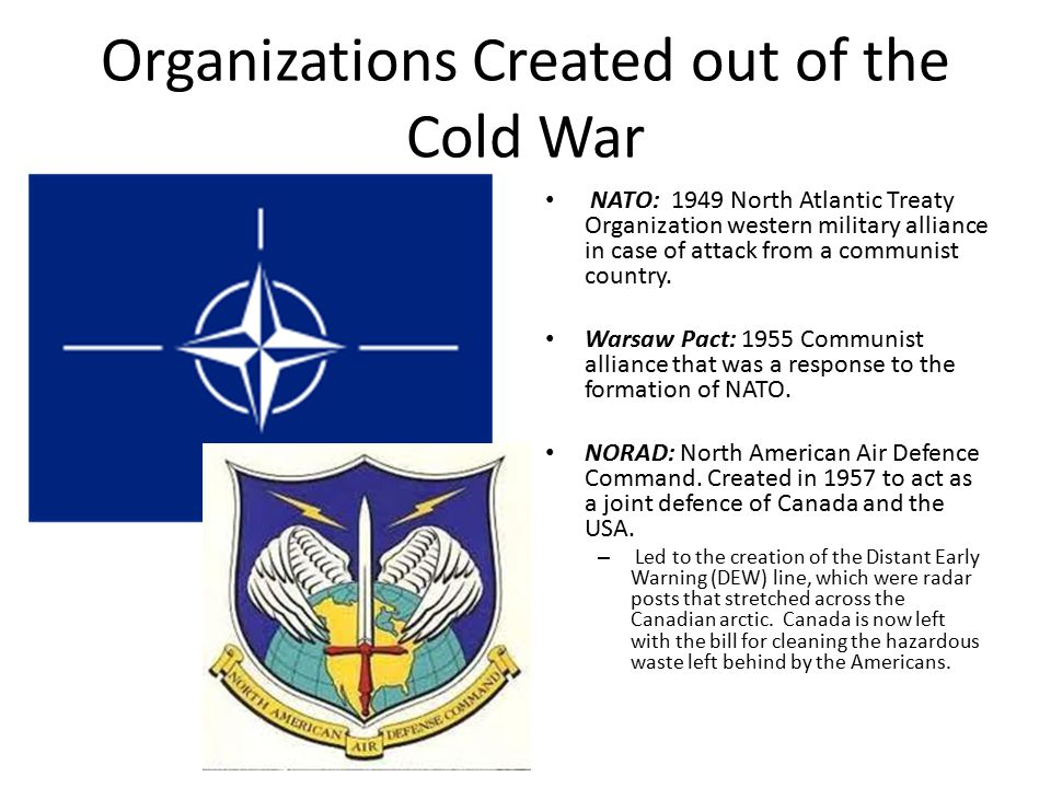 A history of the north atlantic treaty organization in the cold war