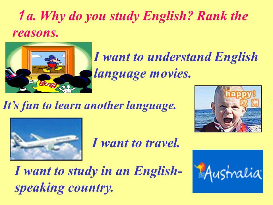 Why do people need to study English language - answers.com