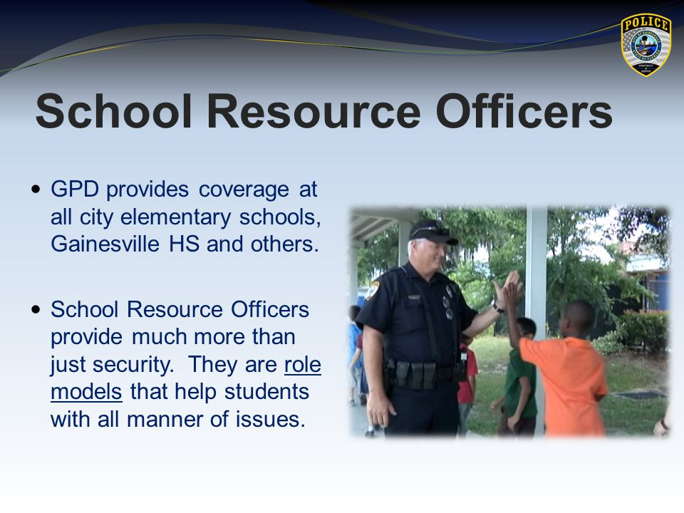 the role of school safety resource officers essay Obama administration urges schools to clarify role of comprise a tiny minority of the 31,000 school resource officers working in public safety, and.
