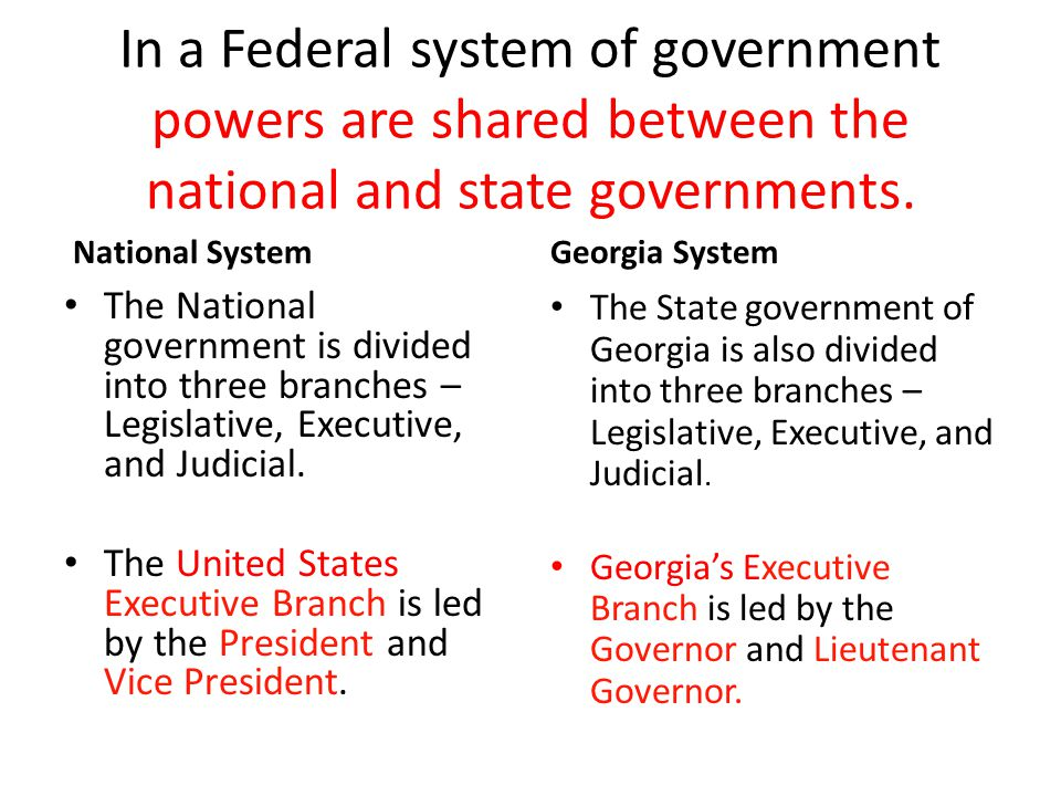 a comparison between federal and state government in the united states Federal vs state federal vs state policy comparison the federal and state government play essential roles in moving the united states of america.
