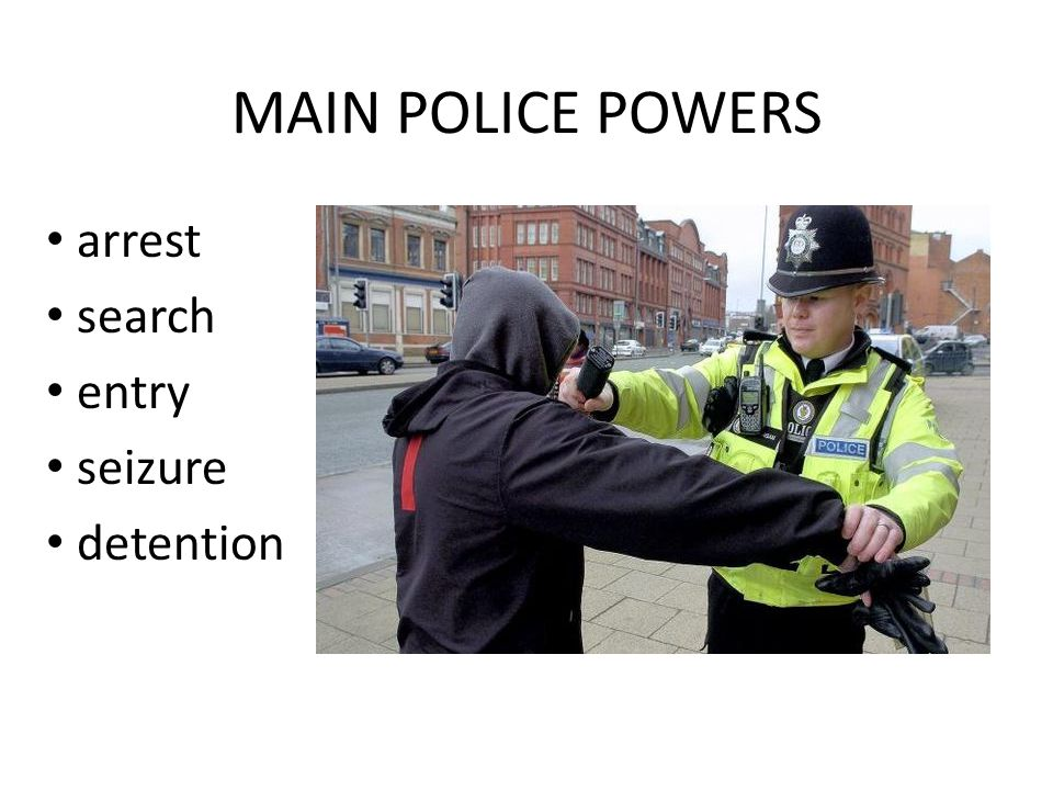 Police powers to stop and search: your rights