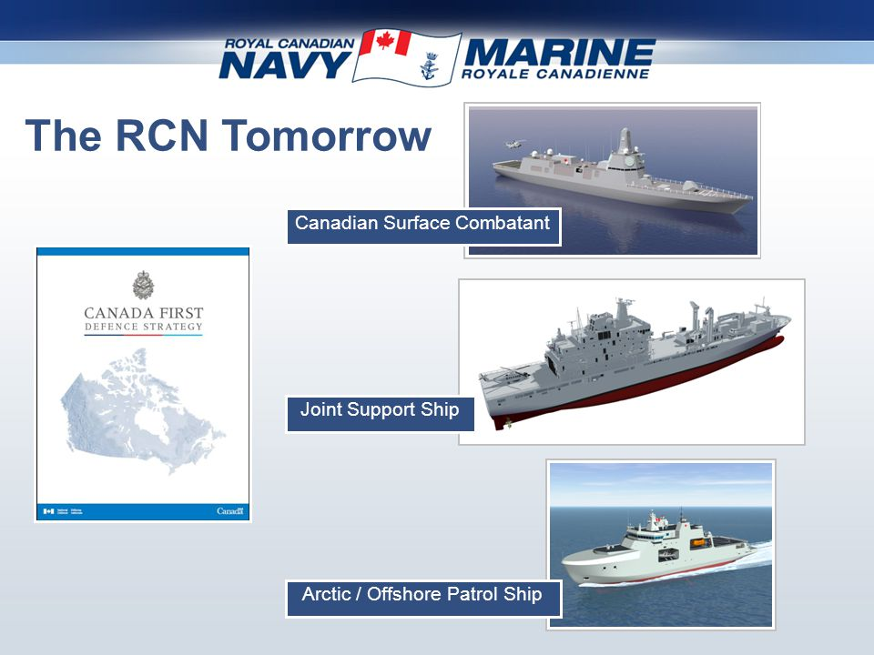 The Royal Canadian Navy Today and Tomorrow - ppt video ...