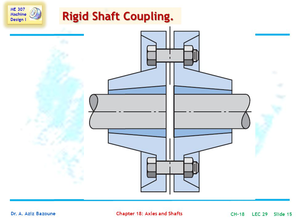 Rigid Shaft Coupling.