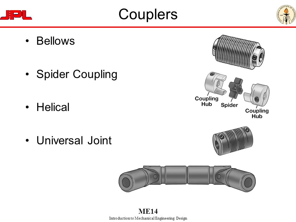 Couplers Bellows Spider Coupling Helical Universal Joint