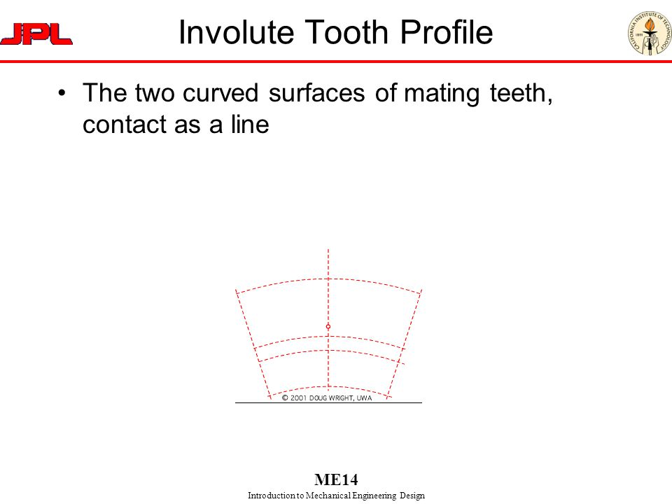 Involute Tooth Profile