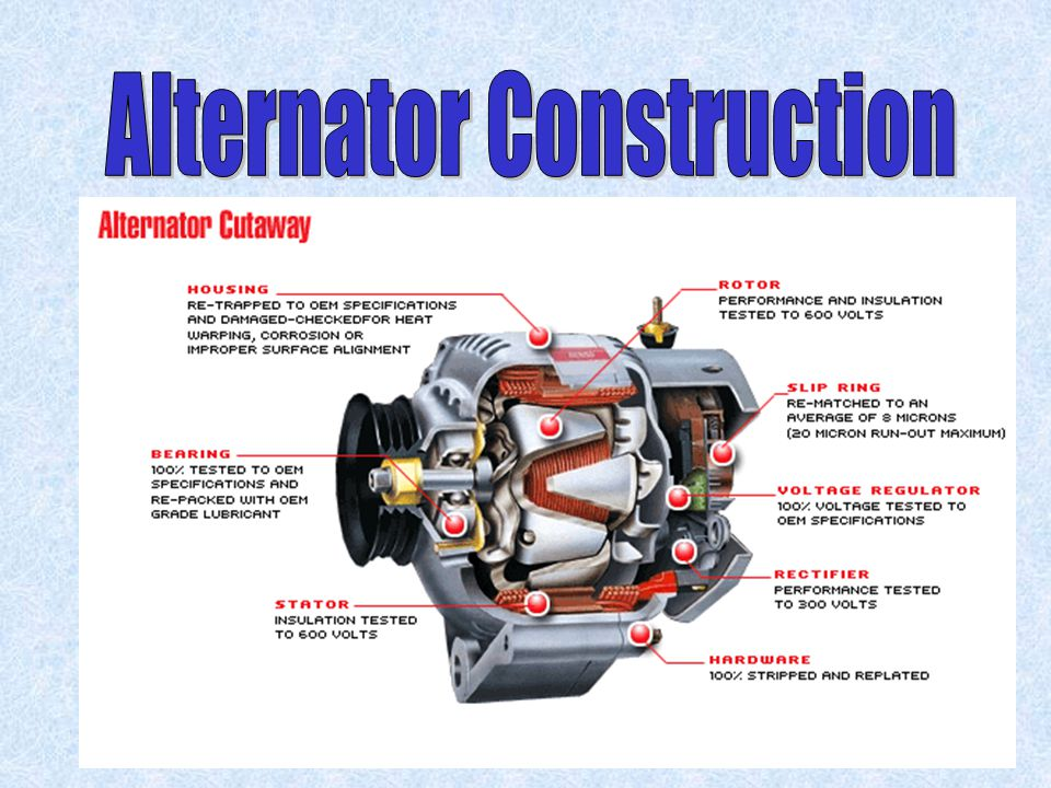Alternator Construction