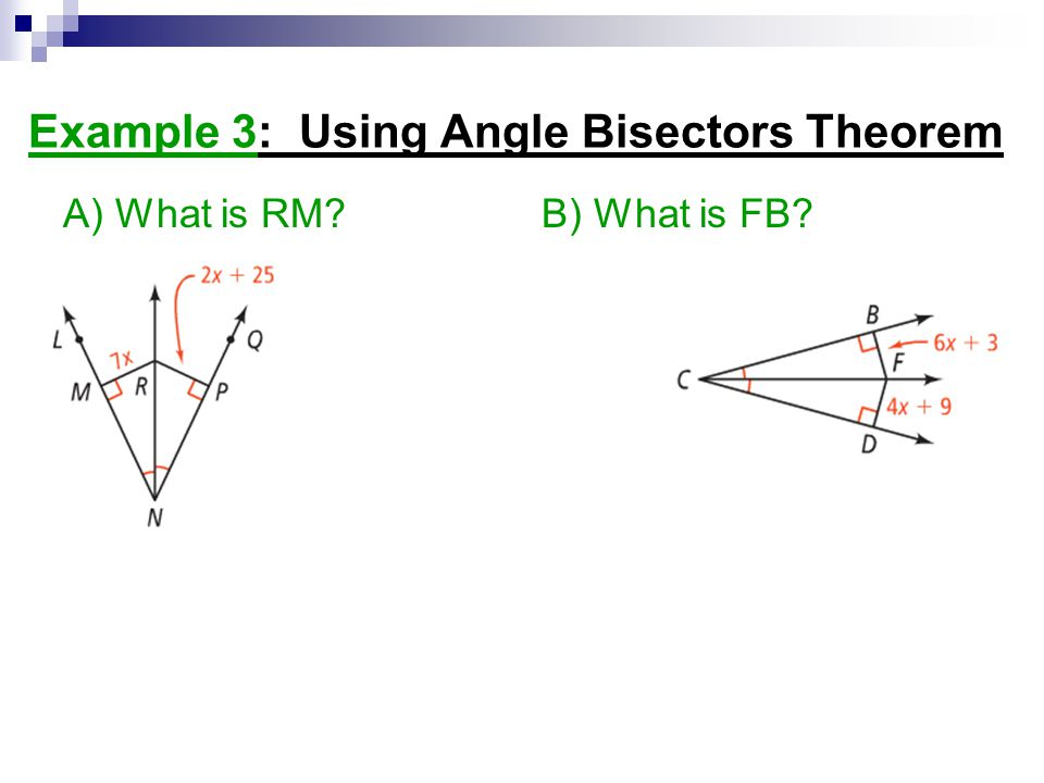 What is a Bisector? - Definition & Example | Study.com