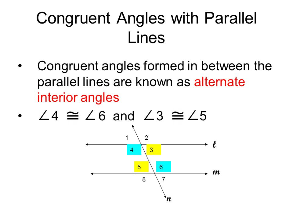 how to find if lines are parallel