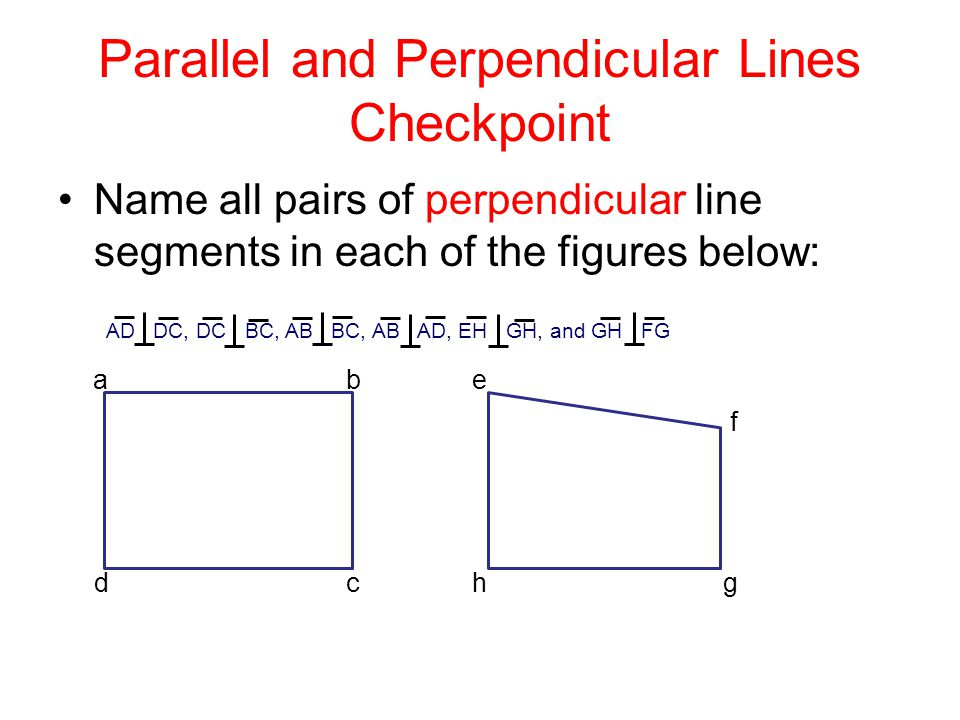 Civil D Draw Line Perpendicular : Parallel and perpendicular lines ppt download