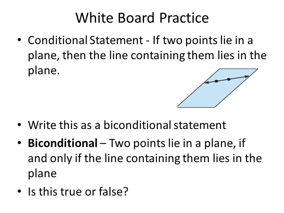 how to write biconditional statement