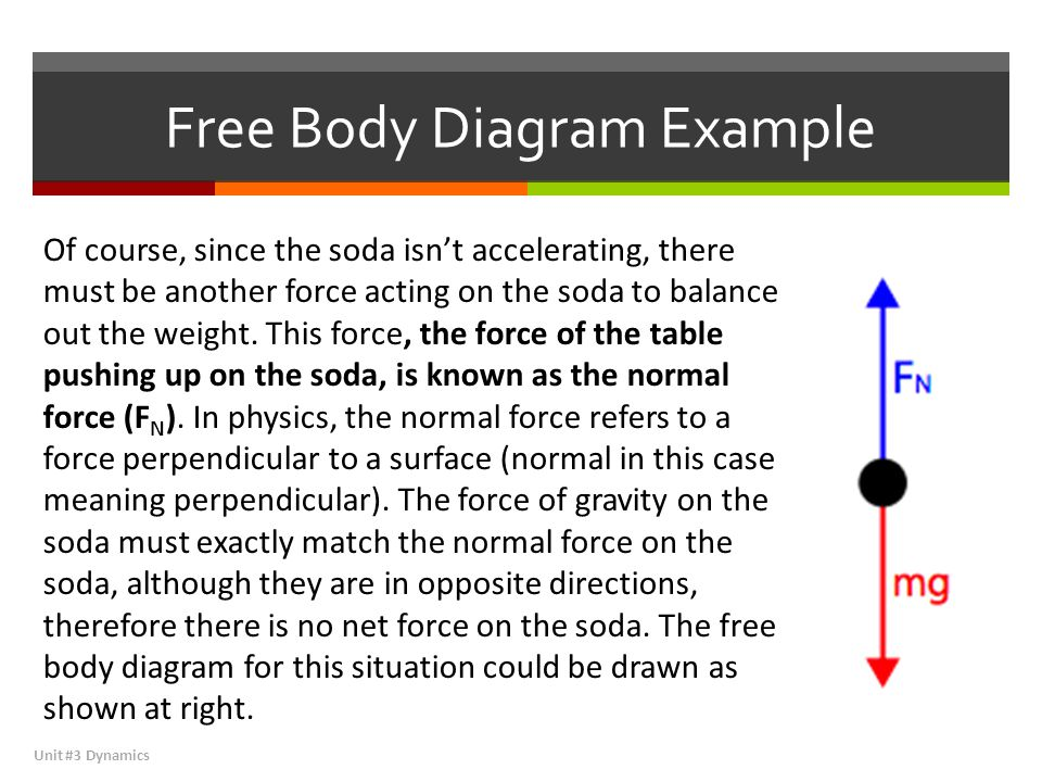 Free Body Diagram Example