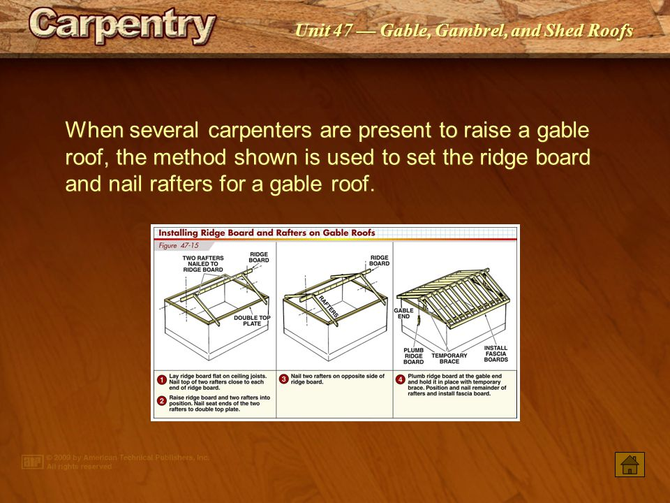 Gable Gambrel And Shed Roofs Ppt Video Online Download