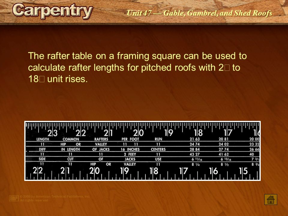 Framing Square Rafter Tables Gallery - Table Decoration Ideas