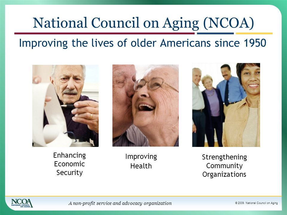 National Council on Aging (NCOA)