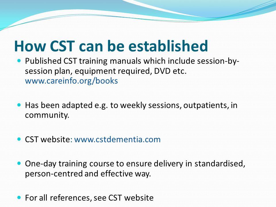 cognitive stimulation therapy manual pdf