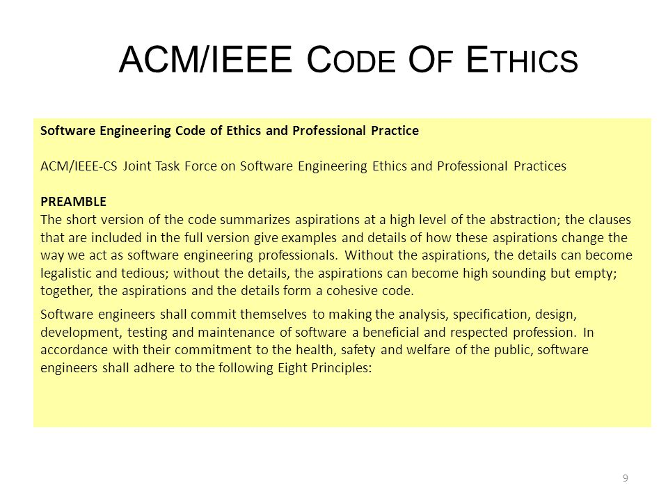 How to Analyze the Code of Ethics of an Organization