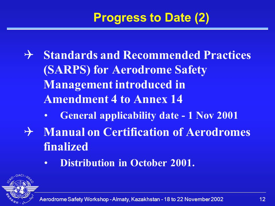 Manual on Certification of Aerodromes finalized