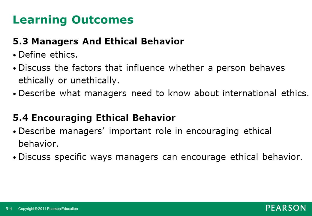 discussing the three ways leaders can manage ethical behavior in their organizations The earmarks of ethical leadership there are three different ways we can arrive at a decision on what to do: as well as their teams' and the organizations.