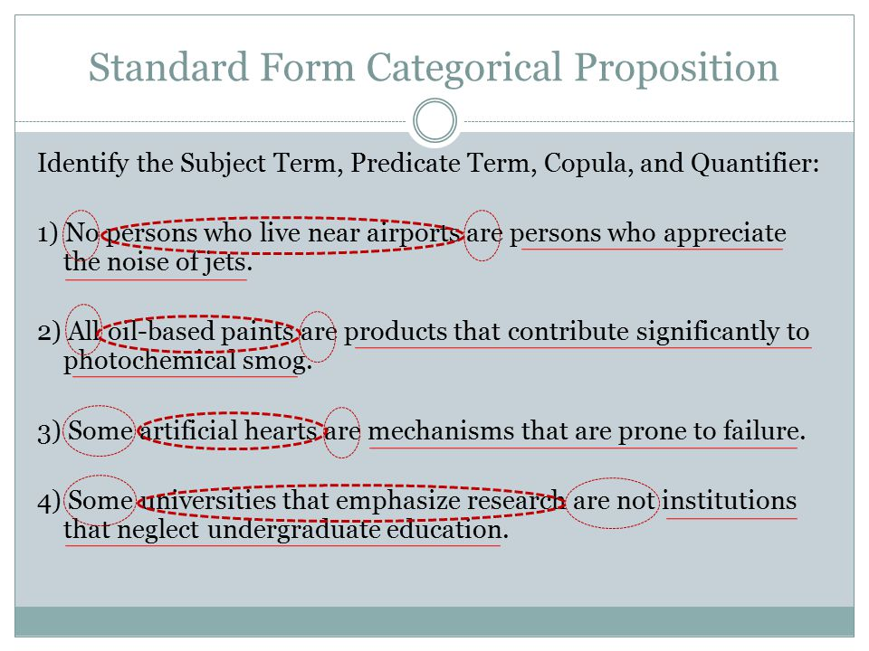 4 Categorical Propositions Ppt Download
