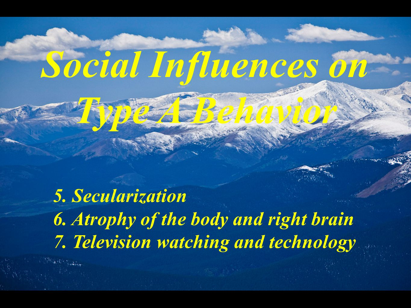 societal influence on thoughts behavior assessment Social influence lisa rashotte social influence is defined as change in an indi-vidual's thoughts, feelings leaders frequently influence the behavior of.