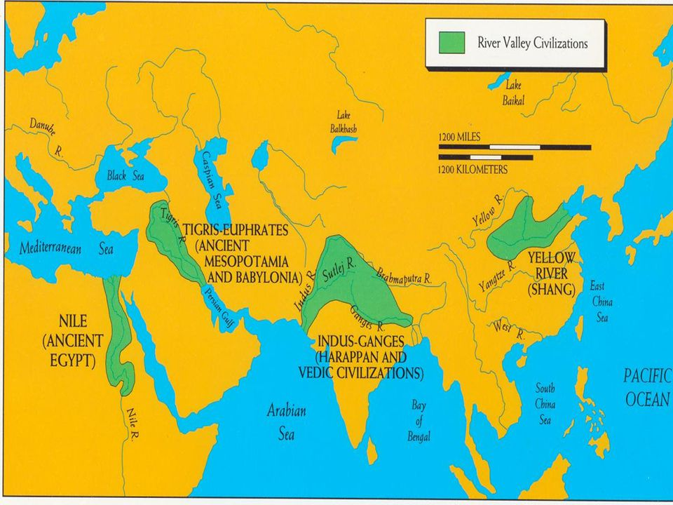 Map of Early civilizations