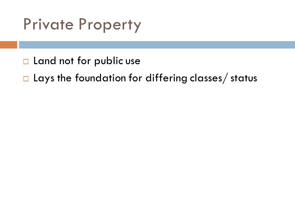 Private Property Land not for public use