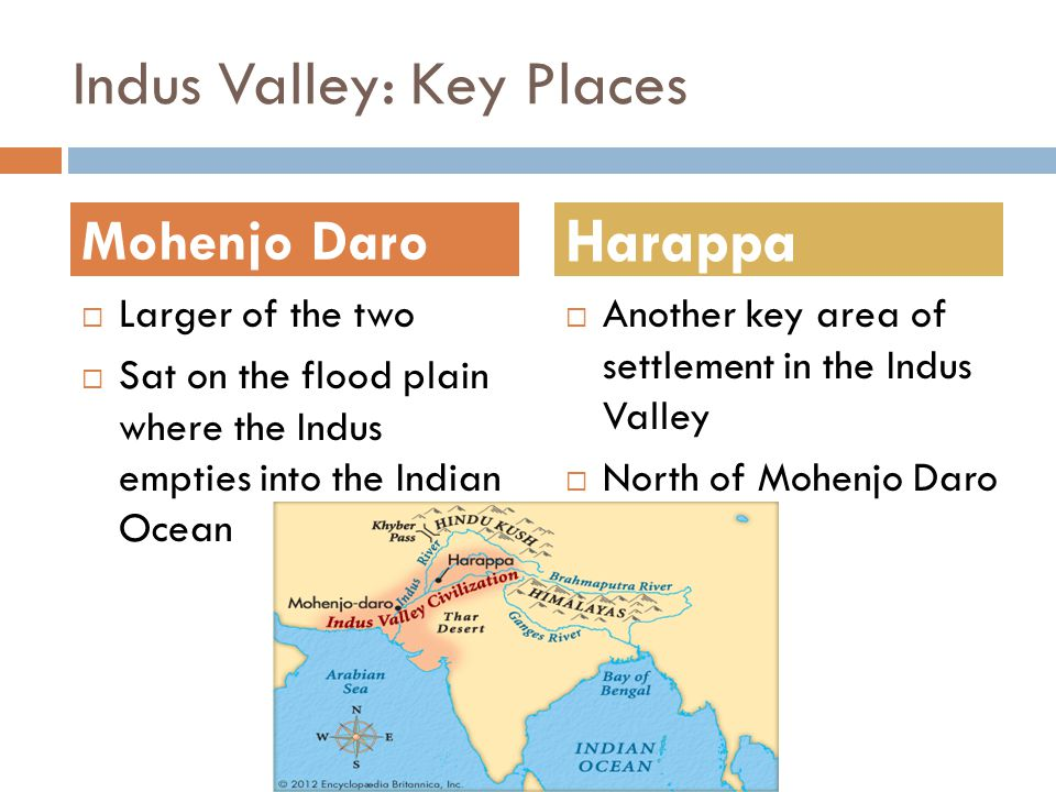 Indus Valley: Key Places