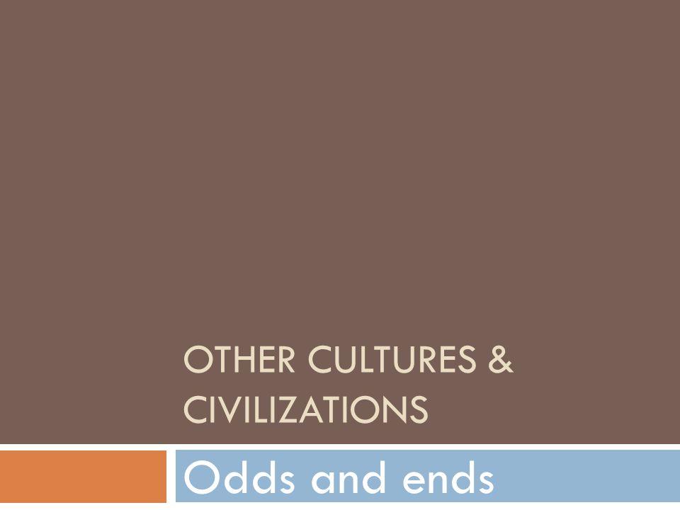 Other cultures & civilizations