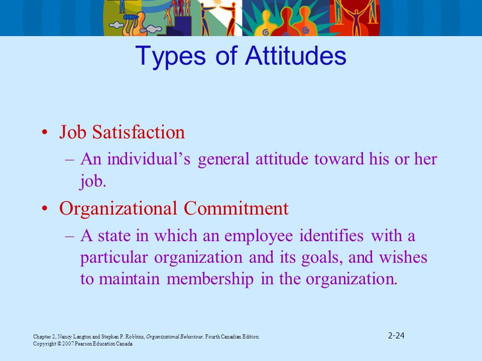 organisational commitment types job related outcomes are Effect of quality of work life on organizational commitment by sem (case study: oico better understanding of how the job is related to other organizational practices and a appear to have little attention therefore this type of commitment is not favorable component of commitment.