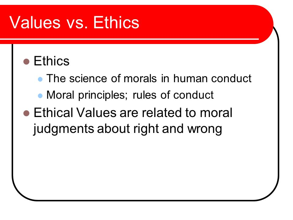 a discussion of the importance of the principles of morals Study 6 6 moral principles to guide decision making flashcards from michael d on studyblue.