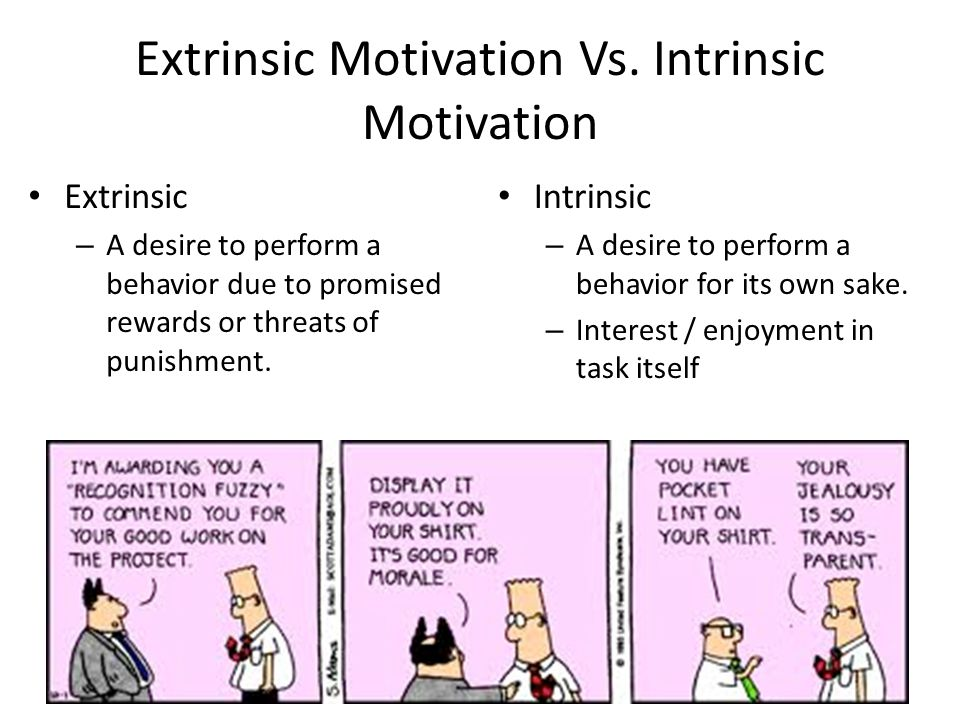 Extrinsic Vs Intrinsic Motivation Motivation Moti...