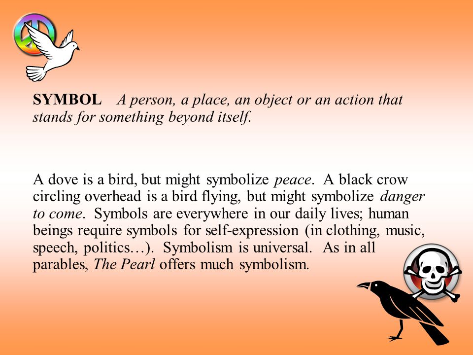 symbolism in steinbecks the pearl
