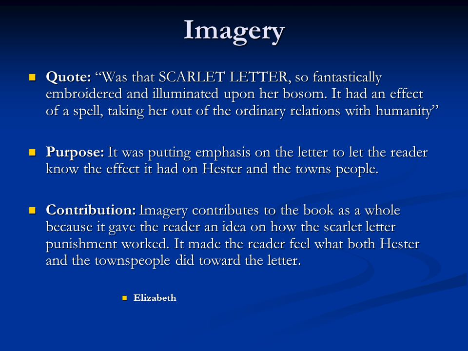 literary devices the scarlett letter. - ppt download