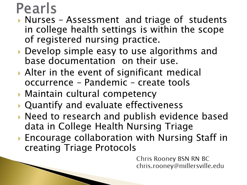 Scope of nursing research