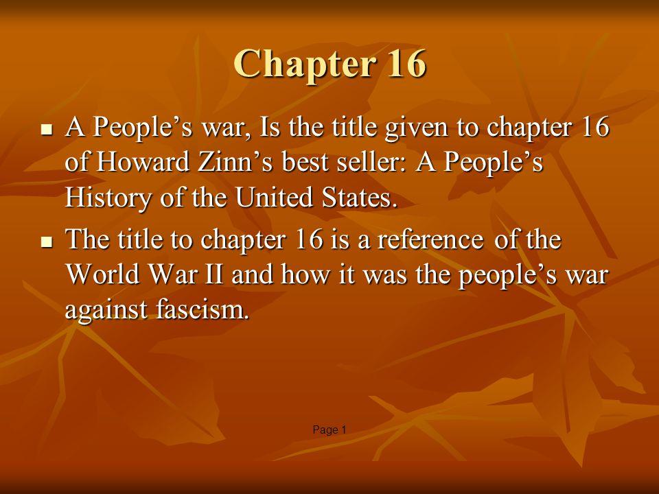 howard zinn chapter 21
