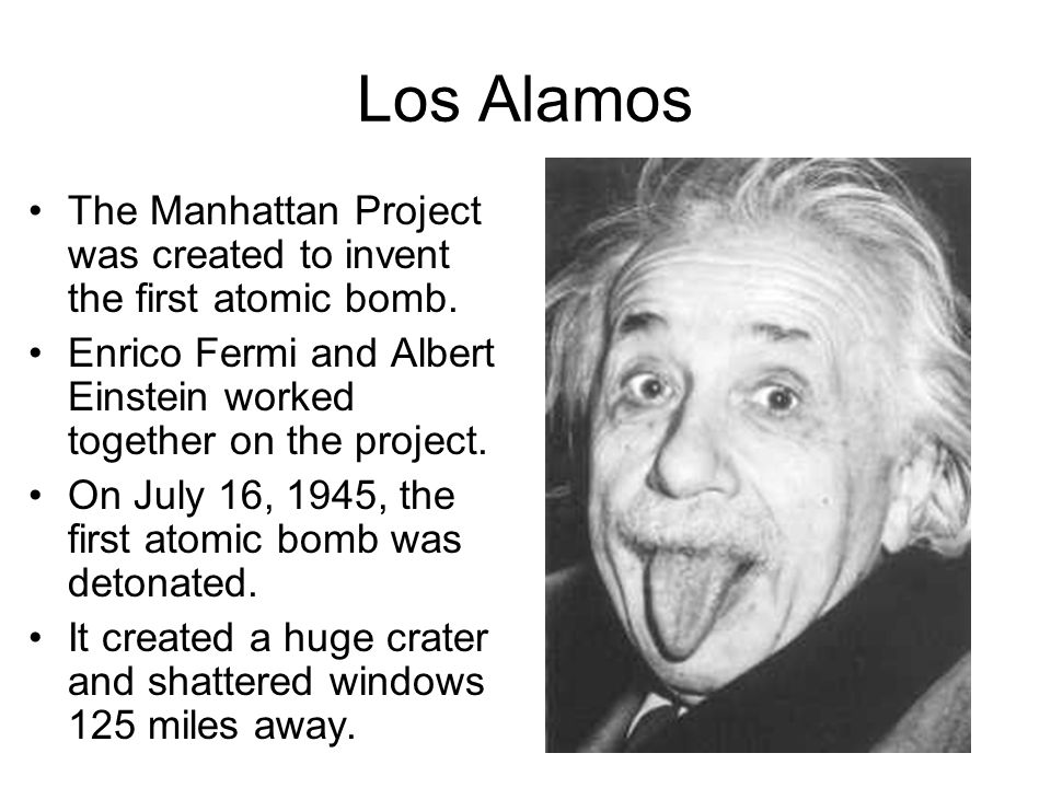 albert einstein manhattan project The manhattan project was a research and development project that produced the first atomic bombs during world war ii  albert einstein signed a letter to .