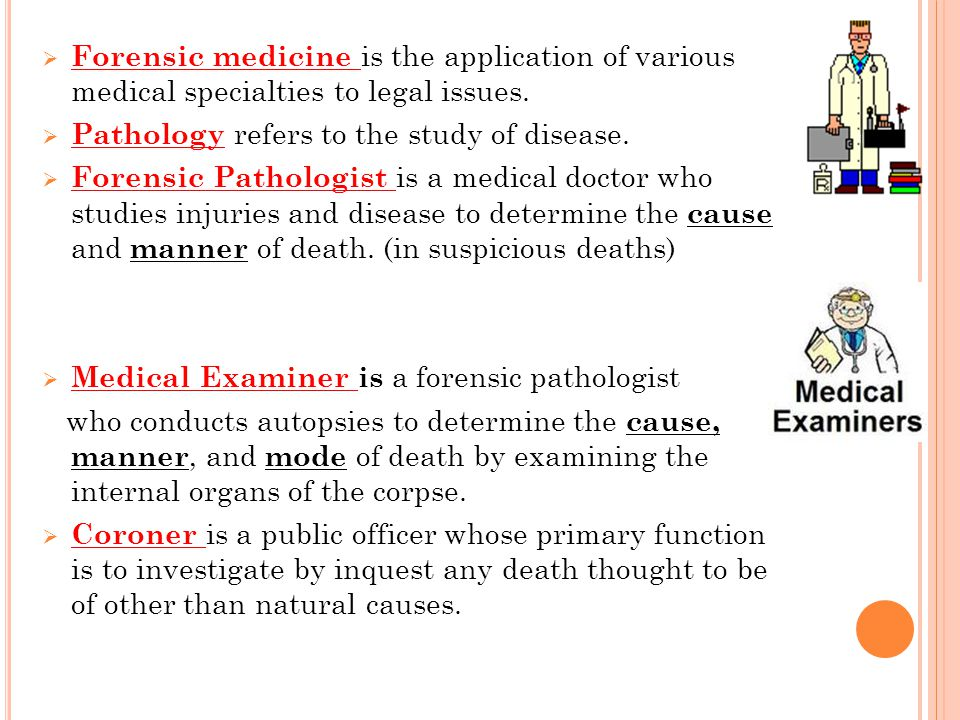 study of the causes of the