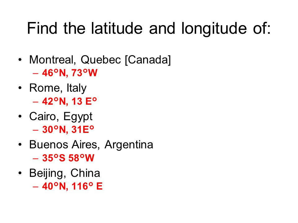 LOCATION To Find Where A Place Is Ppt Video Online Download - Argentina map with latitude and longitude