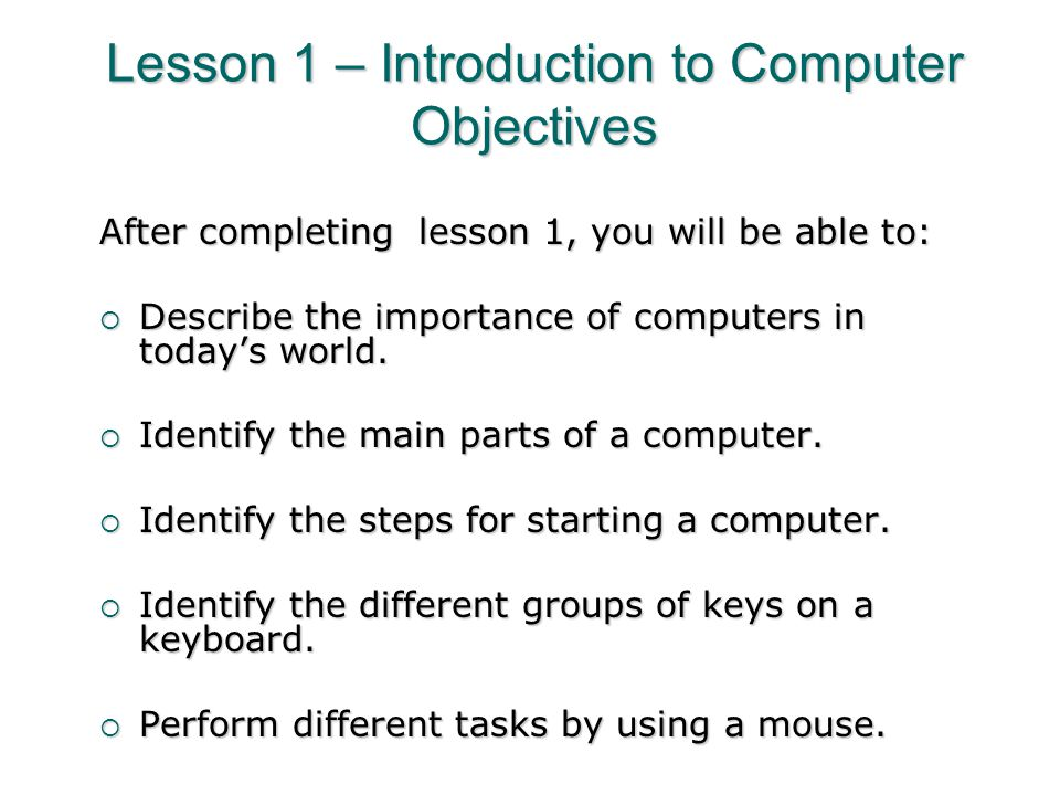 an introduction to the importance of a computer in todays society Computers plays an important role in business, education, health care etc they are now part of our lives let's discuss the importance of computers briefly.