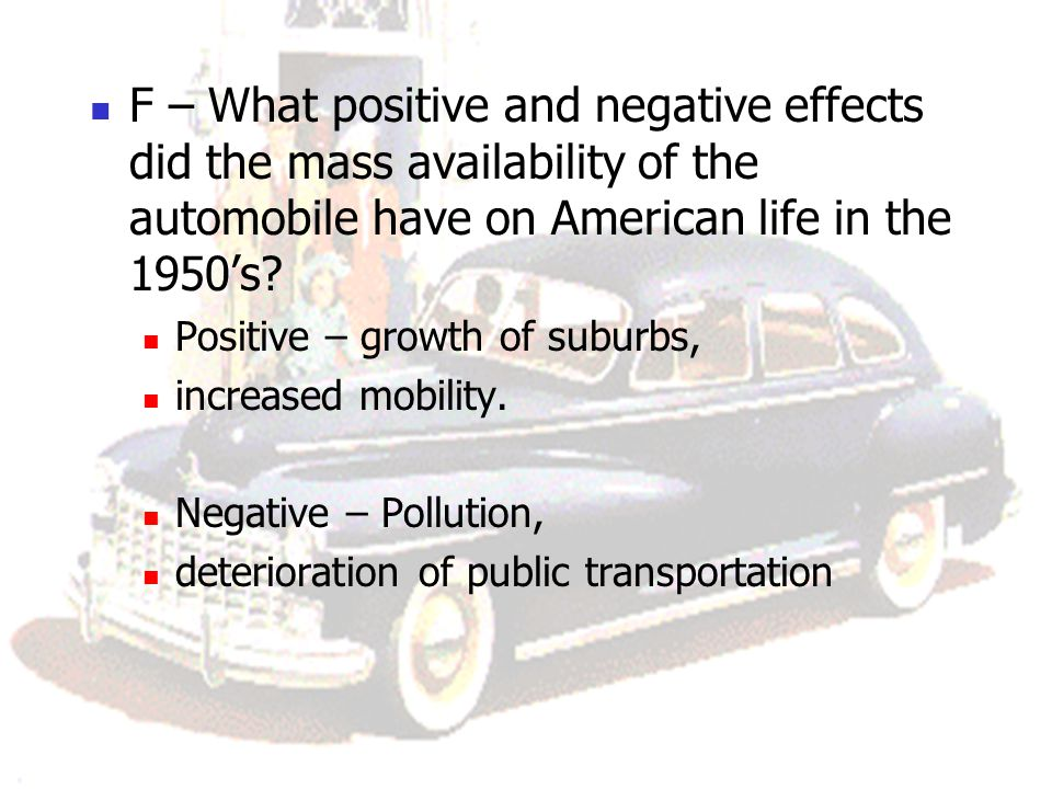 negative effects of transportation The environmental effects of freight  transportation, and limiting the analysis to them may not distort the results significantly − include all kinds of impacts.