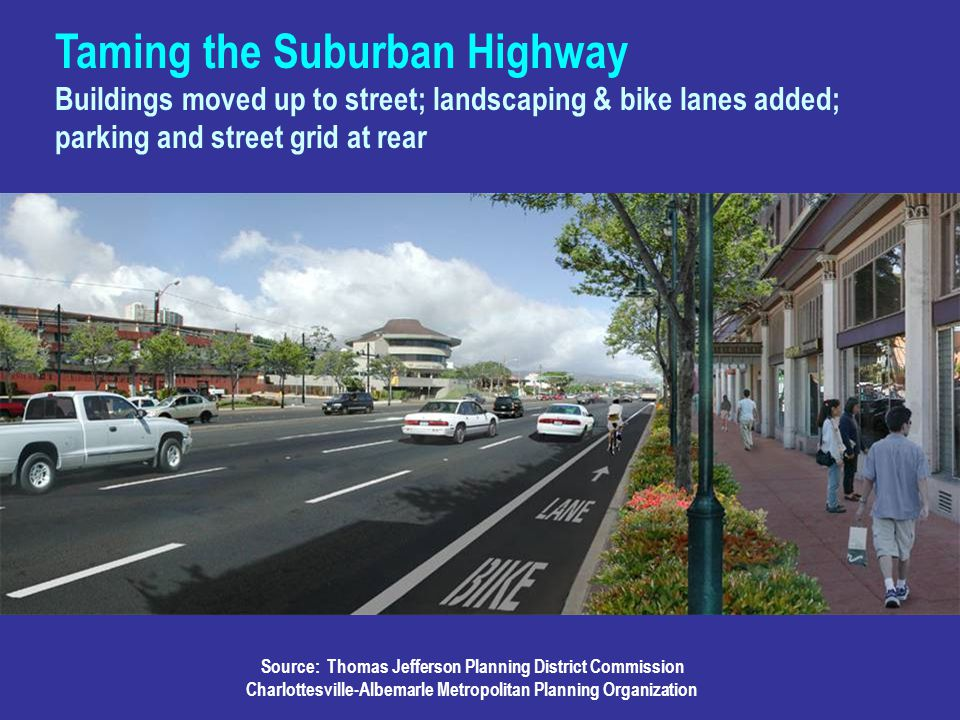 Taming the Suburban Highway